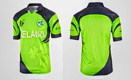 Ireland Team Cricket World cup 2015 T Shirts,. uniform color Pictures