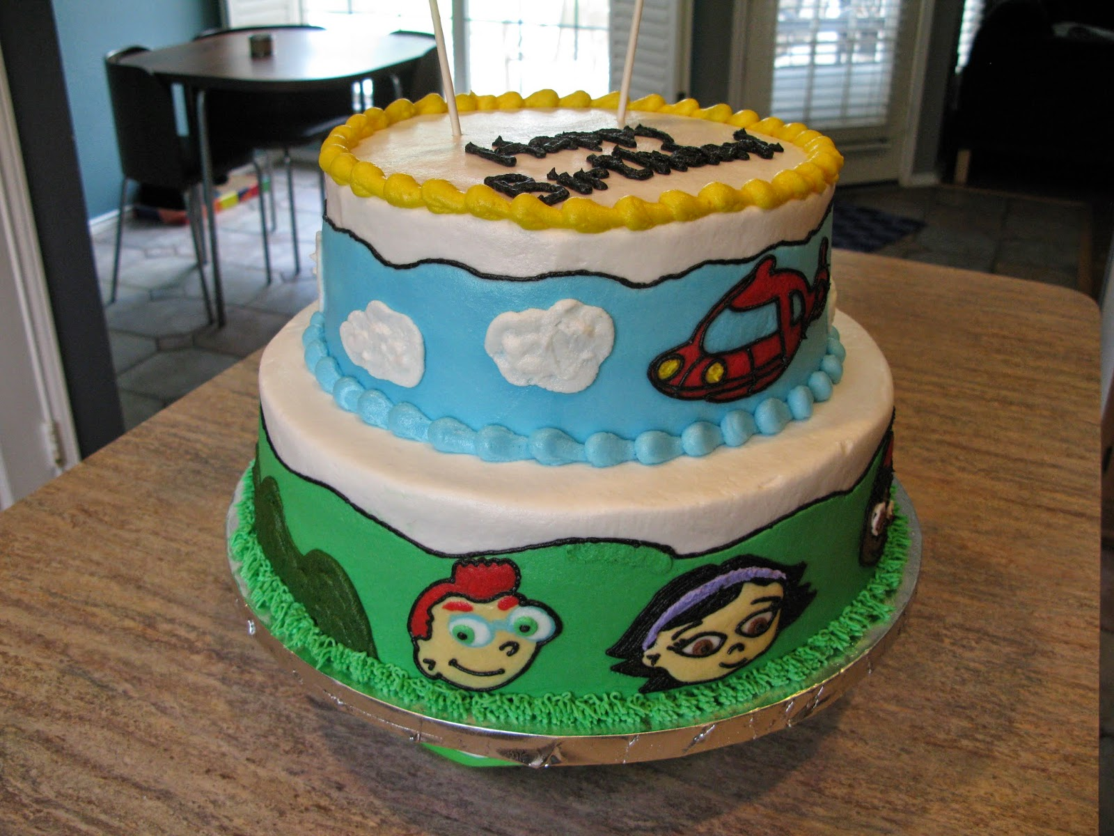 A Counselors Confections Little Einsteins Birthday Cake