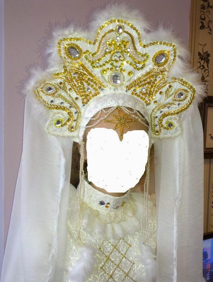 Кокошник или корона своими руками 93