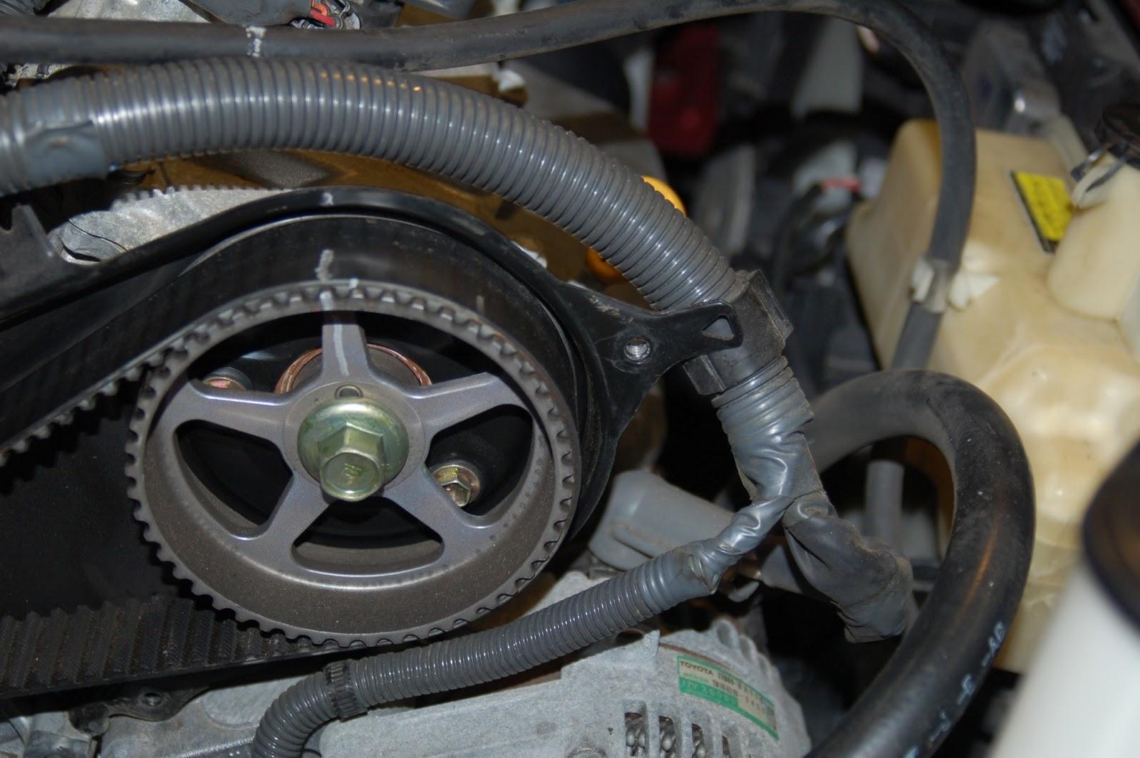 Toyota 2004 Sienna repair: 2004 Sienna Timing Belt/Water ...