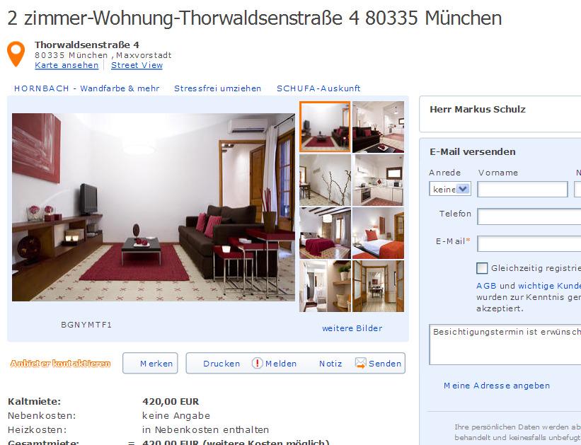 Markusschulz000 for 4 zimmer wohnung munchen