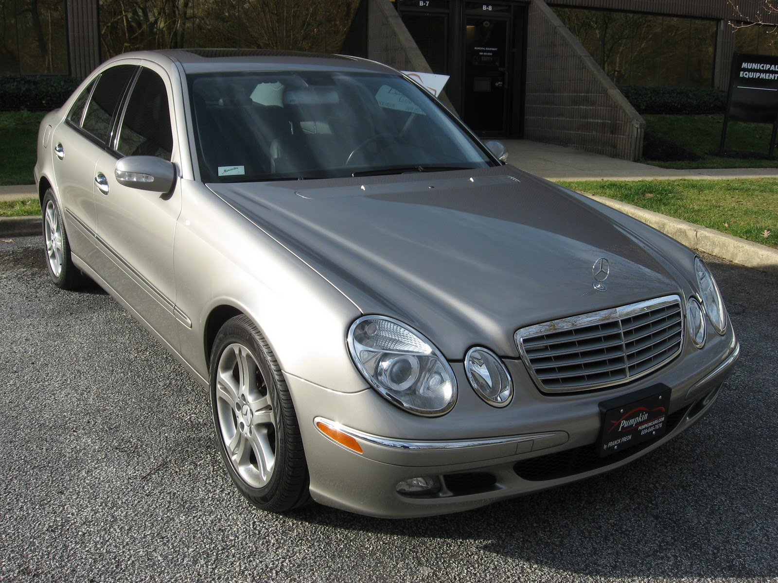pumpkin fine cars and exotics 2006 mercedes benz e350 4matic