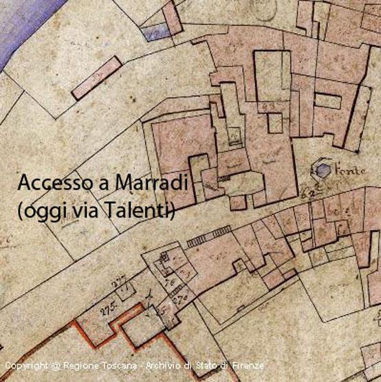 Il blog della biblioteca di marradi marradi nel 1620 for Piani casa del sud del paese
