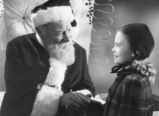 Crazy film guy miracle on 34th street 1947 and 1994 for Classic christmas films black and white