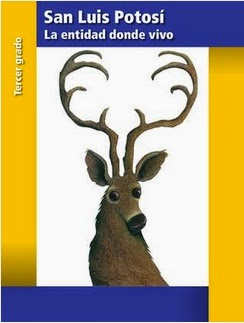 San Luis Potosi La Entidad Donde Vivo Tercer Grado (2014-2015) Libro de Texto PDF