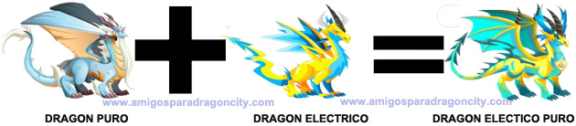 como sacar el dragon electrico puro en dragon city
