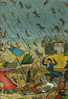 Raining Cats and Dogs and Pitchforks