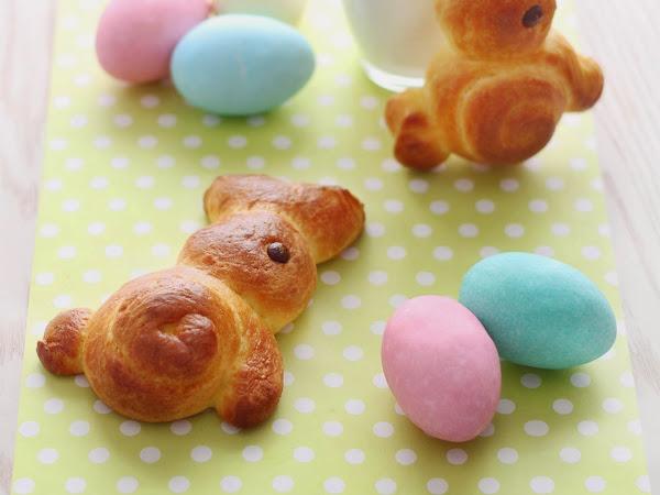 Coniglietti di Brioche per Pasqua