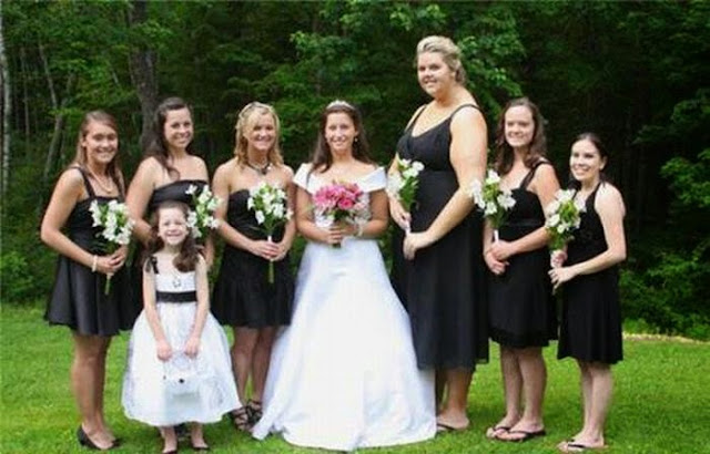 Свадебные прикольные фото