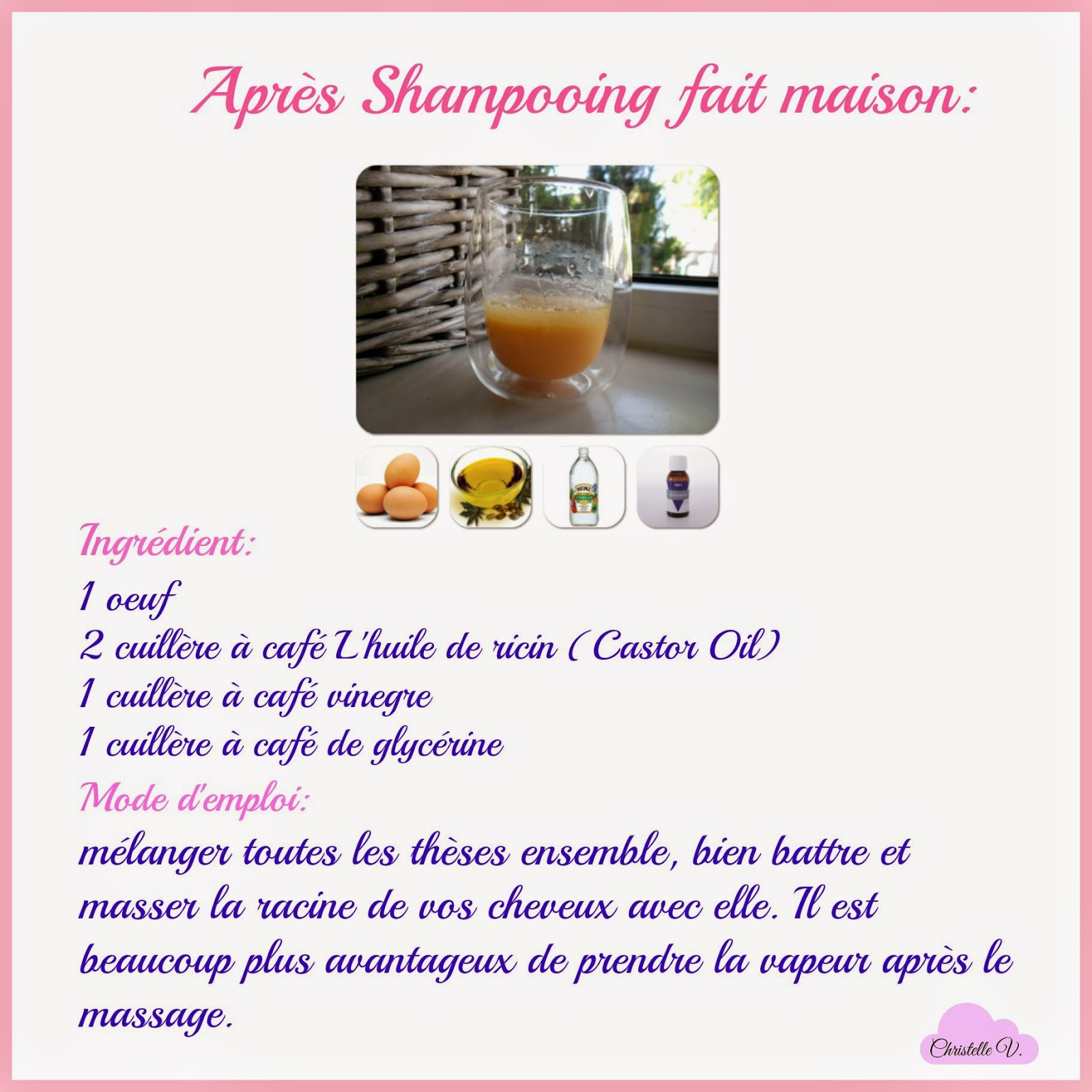 How to grow your hair healthy and faster part 3 for Apres shampooing maison