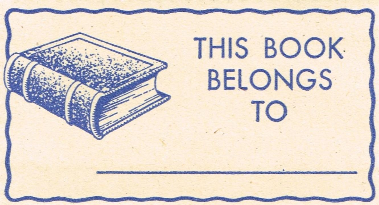 Vintage Blue Labels Printables | Knick of Time