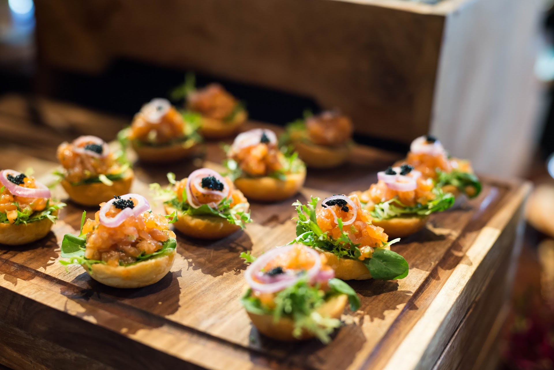 salmon tartare, hors d'oeuvres, small plates, what to eat in bali, nusa dua, sofitel resort hotel, luxury hotel, best buffets in the world, brunch