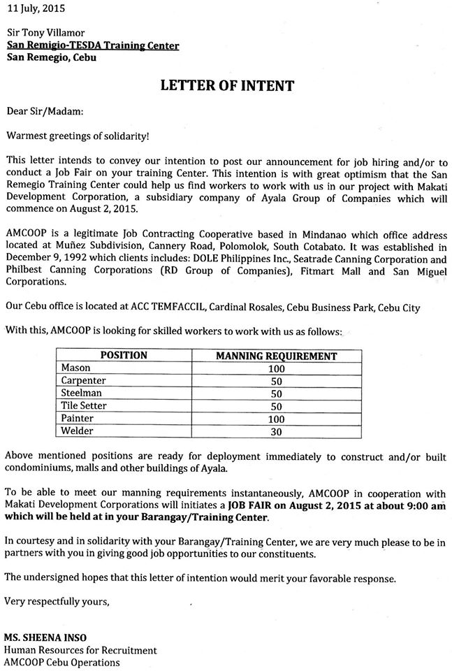 Amcoop Local Job Fair San Remigio | The Bogo Times - City Of Bogo