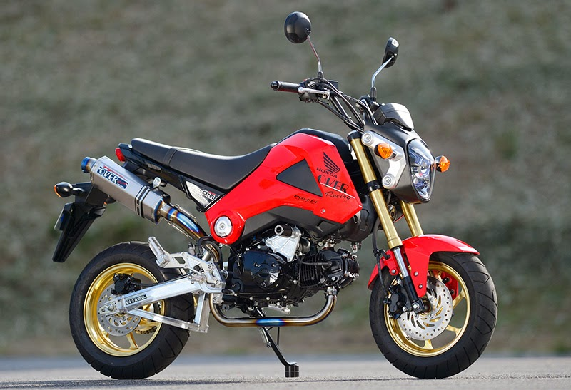 M4 Grom Exhaust