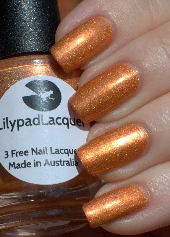 Lilypad Lacquer Sassy Citrus