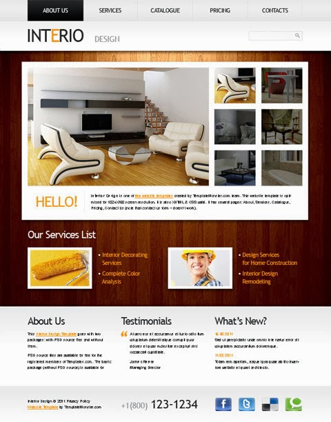 Cgrocket themes - Woodshop Joomla 2.5 Virtuemart templates