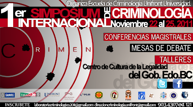 Primer Simposium Criminologia 2011