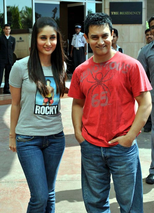 Aamir Khan with Kareena Kapoor