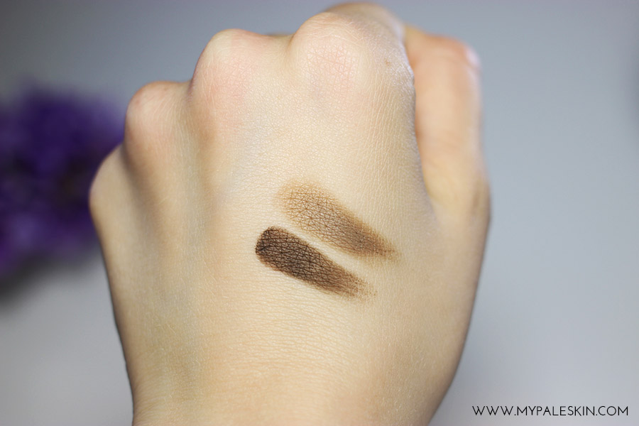 anastasia dipbrow swatches. anastasia beverly hills dipbrow pomade review swatches taupe medium brown s