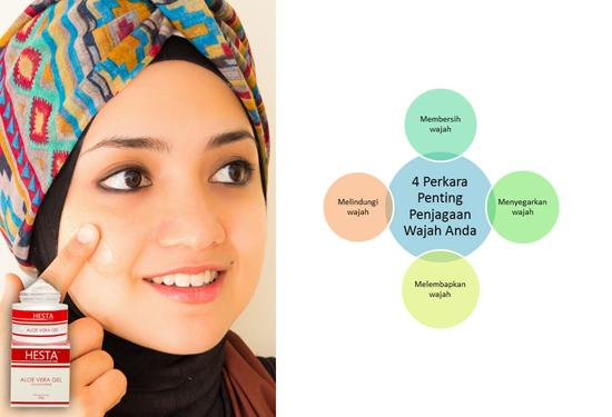 4 Tips Kecantikan Wajah HESTA 1Stop Beauty