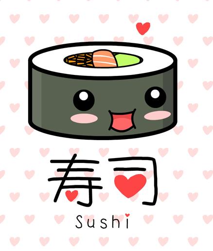 Regala una imagen al usuario de arriba... - Página 2 Kawaii_Sushi_by_The_8th_Sin