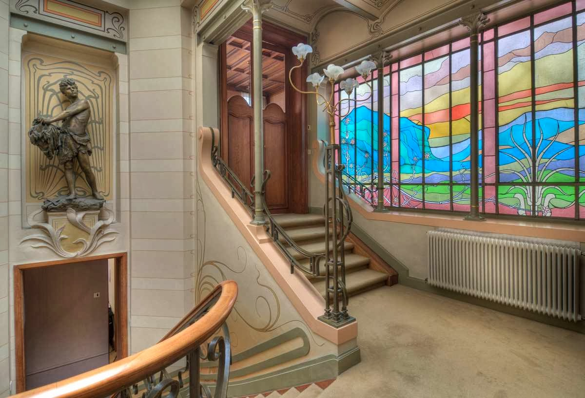 Die wohngalerie november 2013 - Jugendstil wandgestaltung ...