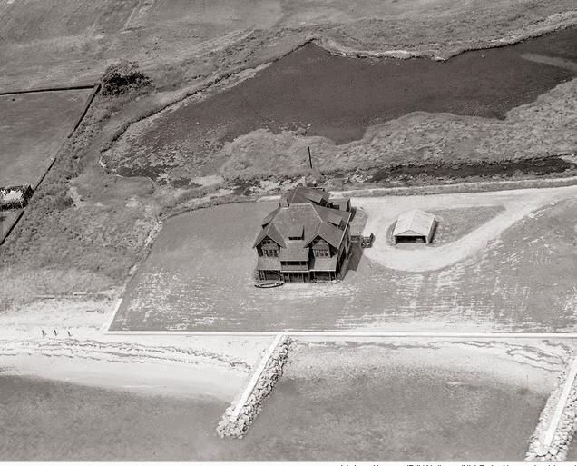 1938. Hepburn's home.