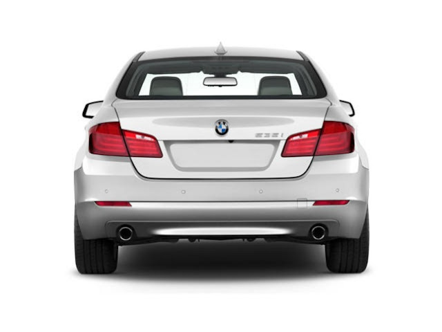 Rear view of 2011 BMW 528i