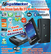 SonyEricssonX10. SmartphoneSonyEricssonX10Mini500x375. S/. 829.00