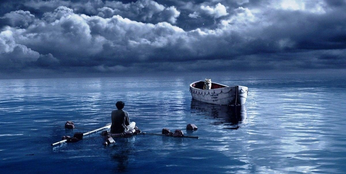 the fictitious story of survival at sea with richard parker in life of pi a novel by yann martel