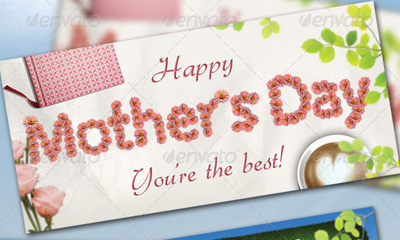 Happy Mother's Day - Flyer & Greetings Card