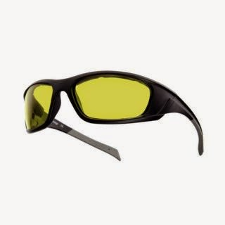Night Vision Riding Sunglasses - Yellow