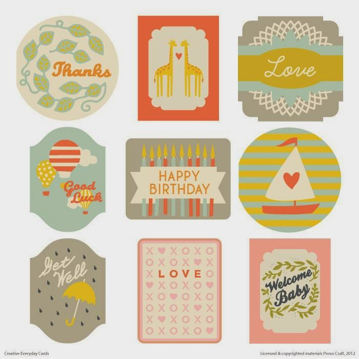 Cricut Everyday Cards cartrdige