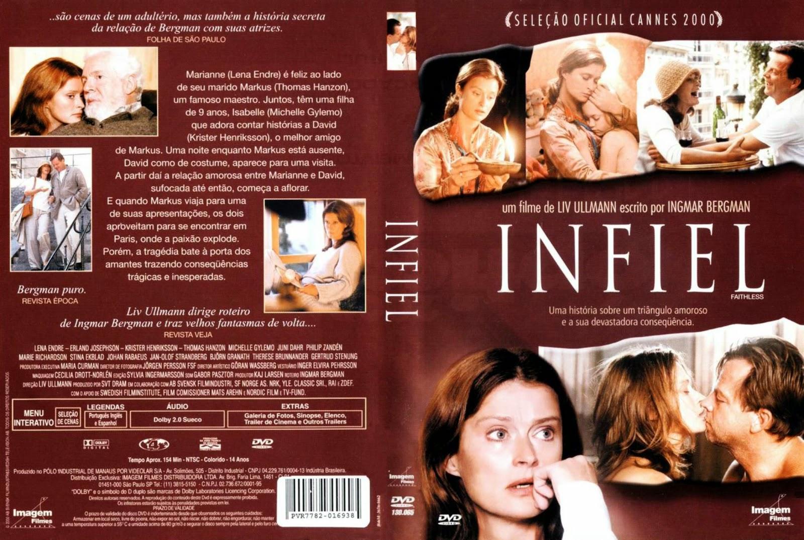 Capa DVD Infiel