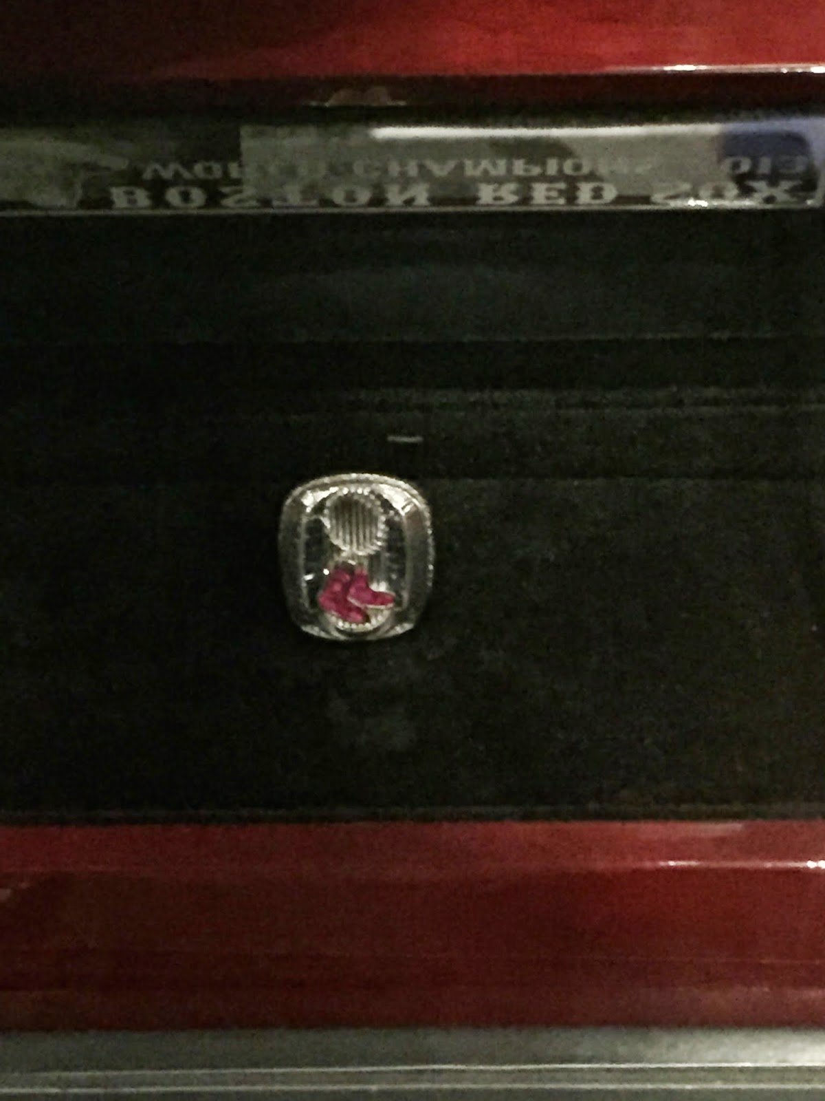 2013 World Series Ring, Red Sox World Series Champions
