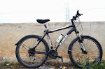 Trek MTB with indian steel fenders