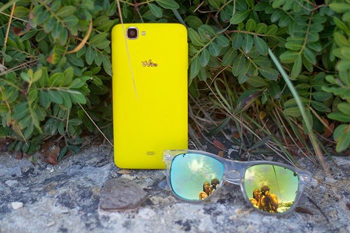 wiko rainbow yellow