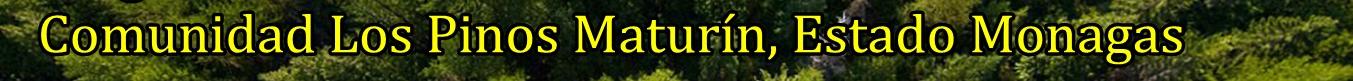 Comunidad Los Pinos de Maturín