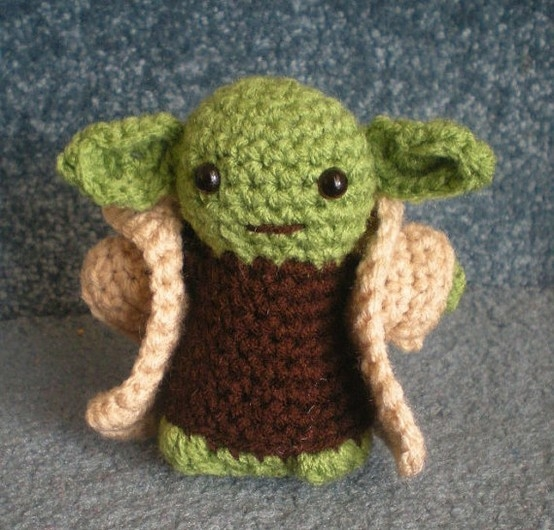 Amigurumi Pattern Yoda : Crocheting Conversations: May the 4th be with you.....