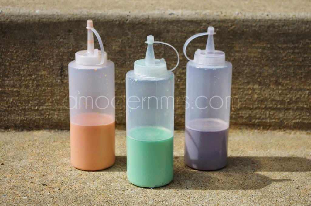 DIY Sidewalk Paint Recipe — a Modern Mrs.
