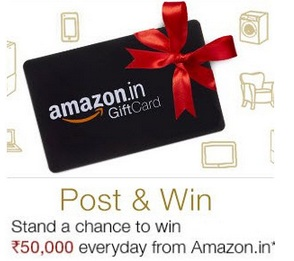 Win Rs. 50000 Amazon Gift Card on Posting Free Ad – Junglee