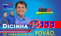 DICINHA DO CALÇAMENTO - Candidato a vereador do MDB de Tabira