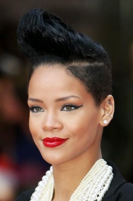 coiffure femme noire cheveux courts