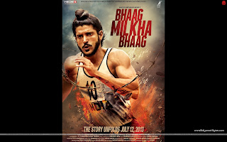 First Look Poster wallpaper Bhaag Milkha Bhaag Farhan Akhtar