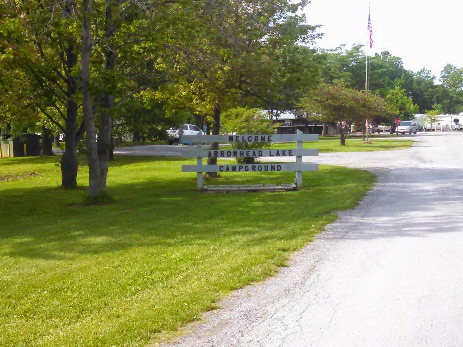 Arrowhead Lake Camp Ground Johnston City Il