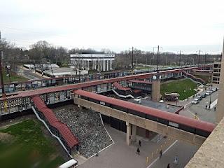Metropark train station