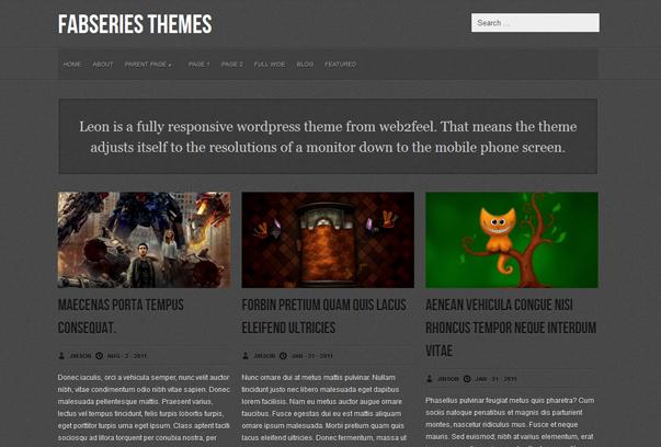 fresh free wordpress themes+%252816%2529 2012 En Güzel Bedava WordPress Temaları indir
