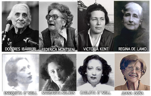 Homenaje a las mujeres represaliadas por el franquismo.