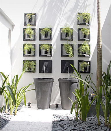Vertical Gardens For Narrow Space Beautiful Architecture