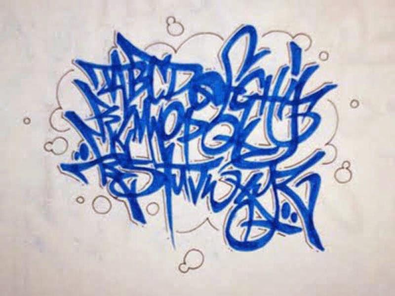 Célèbre Graffiti Wall: March 2014 YZ18